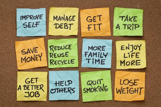 إعادة تفكير في بناء أهداف سنتك الجديدة